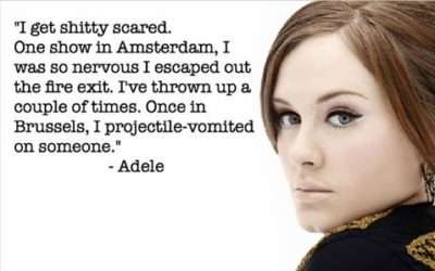 Adele – Stage Fright