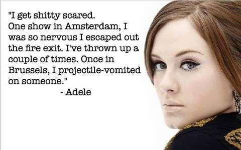 Adele – Stage Fright
