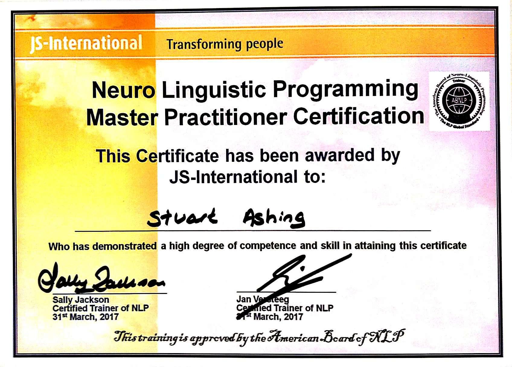 About stuart ashing life coaching therapist motivational nlp 1betcityfo Choice Image